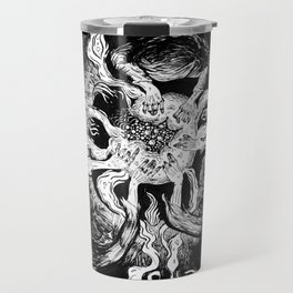 Live elves and fairies in a ring Travel Mug