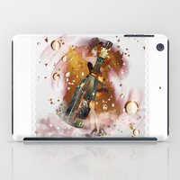 champagne iPad Cases featuring champagne by Nathalie56