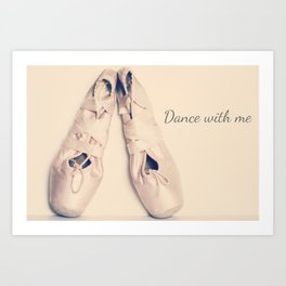 Dance with Me Art Print