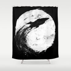 Midnight Delivery Shower Curtain