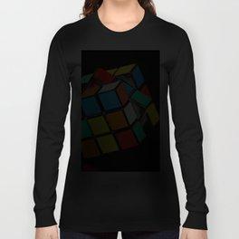 Rubik's cube Langarmshirt