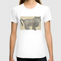 furry T-shirts featuring Furry Cat by Felis Simha