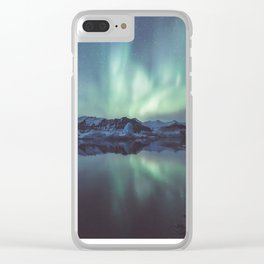 Jokulsarlon Lagoon - Landscape and Nature Photography Clear iPhone Case