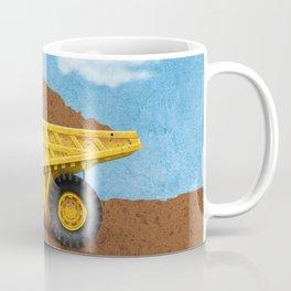 Construction Dump Truck Coffee Mug