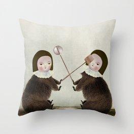 rivals Throw Pillow
