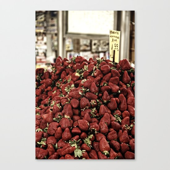 Fresh! Canvas Print