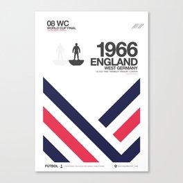 ENGLAND 1966 Canvas Print