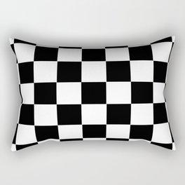 Checkerboard Rectangular Pillow