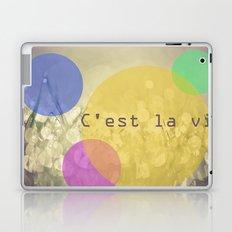 c'est la vie. Laptop & iPad Skin