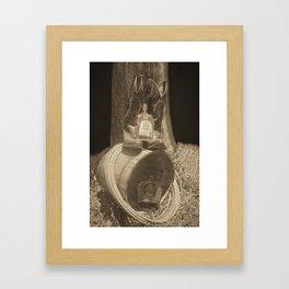Country Whiskey Framed Art Print