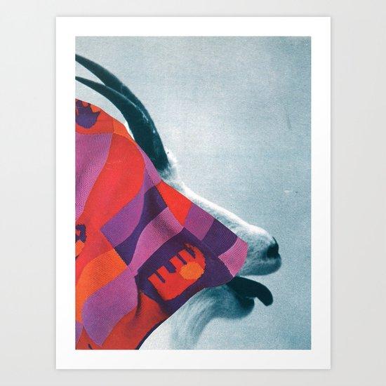 the fabric of reality (coarse) Art Print