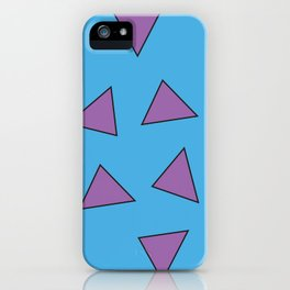 Rocko's Triangles iPhone Case