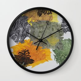 Carbonation Collection: spring Wall Clock