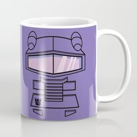transformers Mugs featuring Transformers - Shockwave by CaptainLaserBeam