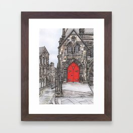 The Royal Mile Framed Art Print