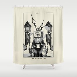 Fig. V - The Hierophant Shower Curtain