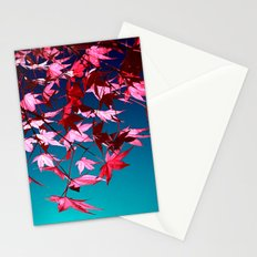 red tree II Stationery Cards