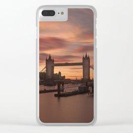 Tower Bridge London Clear iPhone Case