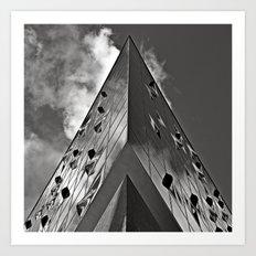 When Music touches the Sky - Duplex Art Print