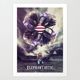 Elephantastic Art Print
