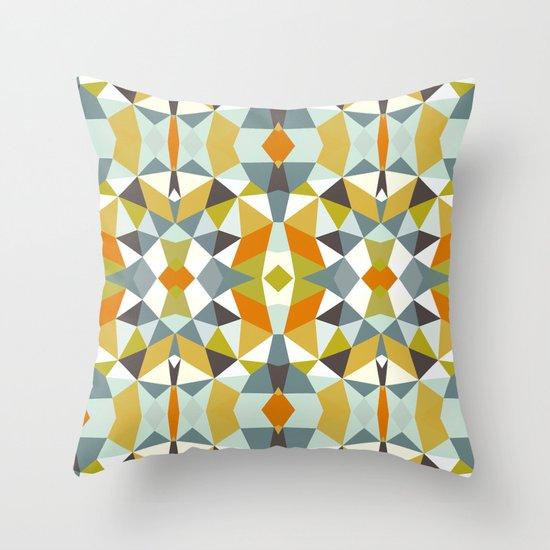 Safari Tribal Throw Pillow