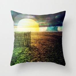 Dutch Dunes Throw Pillow