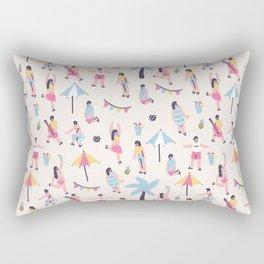 The Summer Party Rectangular Pillow