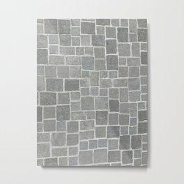 Cobblestones - Art Photography Metal Print