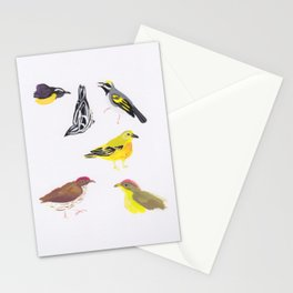 Menagerie of Tweets Stationery Cards