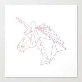 Unicorn Pink Canvas Print