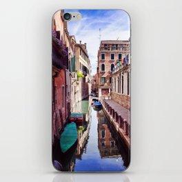 Get Lost In Venice iPhone Skin