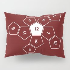 Unrolled D12 Pillow Sham