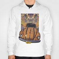 woodstock Hoodies featuring VW ~Bug power by Bruce Stanfield