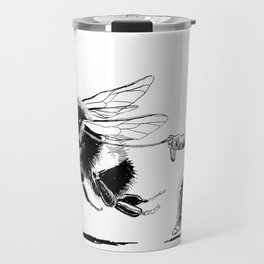 Bee Adventurous Travel Mug