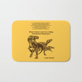 Conclusion: Dinosaurs (Color) Bath Mat