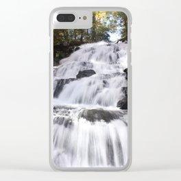 Waterfall Euphoria Clear iPhone Case