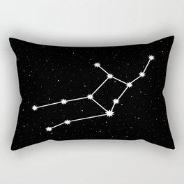 Virgo Star Sign Night Sky Rectangular Pillow
