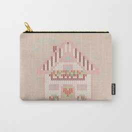 Cute little house cross stitch Carry-All Pouch