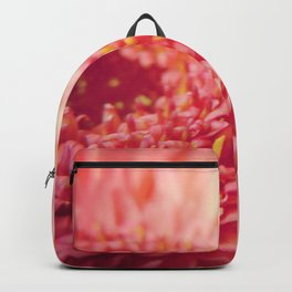 Pink Germini Close Up 5 Backpack