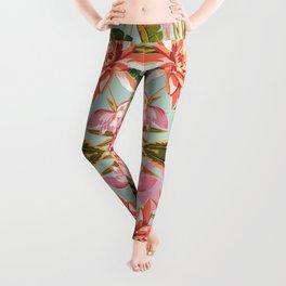 Tropical double mirror Leggings