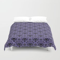 Haunted Mansion Wallpaper Duvet Cover