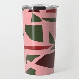 Christmas Geometry Travel Mug