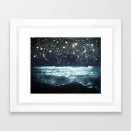 The Greek Upon the Stars Framed Art Print