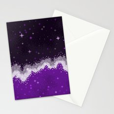 Ace Pride Flag Galaxy Stationery Cards