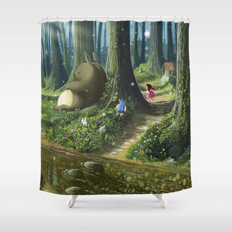 Rainforest shower curtain - Rainforest Shower Curtain 28