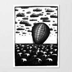 Sea Balloon Canvas Print