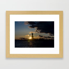 Liberty Starburst Framed Art Print