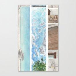 Window to Window Canvas Print