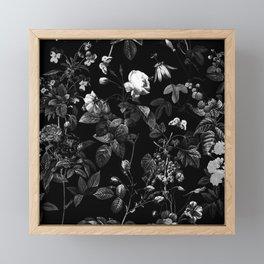 DARK FLOWER Framed Mini Art Print