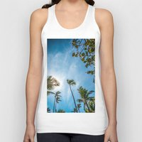 palm Tank Tops featuring PALM by Ines Menacho